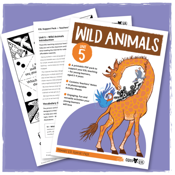 Unit 5 – Wild Animals