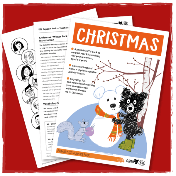 ESL/EFL Christmas Activity Pack