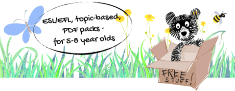 ESL/EFL, topic-based, PDF packs - for 5-8 year olds